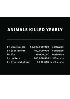 no, we don't need to eat meat, no we don't need to experiment on animals, no we don't need their fur or skin, no, the world will not become over run by critters. Adopt a pet! Support an animal rescue farm! stop eating animal products...