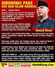 Jangan mau dibohongi pake ISIS dan Islam Radikal