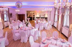 So sieht unser Hochzeitssaal aus