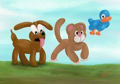 Balloon Animals Frolicking Around by logan7ms on DeviantArt