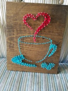 Coffee string art!