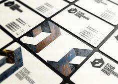 Unique Business Card, 4D Mind #BusinessCards #Design (http://www.pinterest.com/aldenchong/)