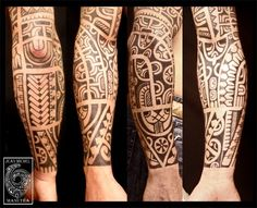 tatouage polynesien-polynesian tattoo: tatouage tribal polynesien Absolutely love this!!!
