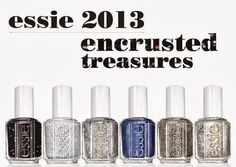 Essie Encrusted Treasures Collection (Bild: Essie)
