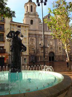 Pza. de San Cayetano.Zaragoza. Foto:Amparo Murillo Martínez.