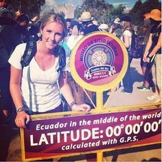 We're at the middle of the world! Volunteer Abroad, School Building, Change The World, Ecuador, Middle, Adventure, Children, Summer, Free