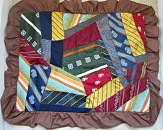 Mens Retro Ties Turned into Pair Funky by VintageSouthernPicks, $25.00