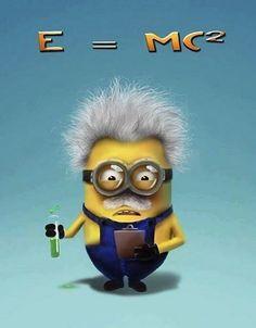 Albert Einstein Minion