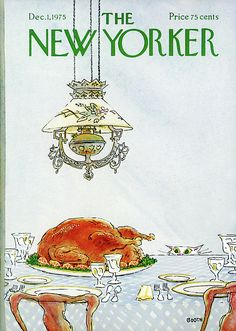 New Yorker December 1st, 1975 by George Booth
