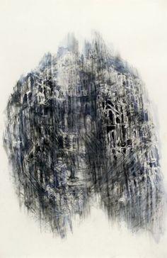 Untitled Diana Al-Hadid Abstract Words, Sketchbook Ideas, Ink Pen Drawings, Etchings, Life Drawing, Muted Colors, Vincent Van Gogh, American Artists, Hobbit