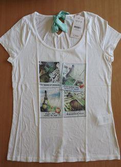 À vendre sur #vintedfrance ! http://www.vinted.fr/mode-femmes/hauts-and-t-shirts-t-shirts/36465254-t-shirt-camaieu-avec-ruban-dans-le-dos