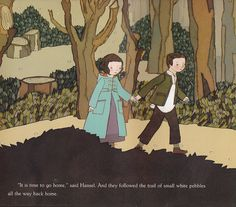 the marlowe bookshelf: Hansel and Gretel