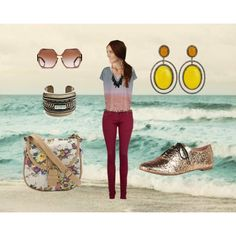 """""""Let's go to the beach beach....""""  on Polyvore"""