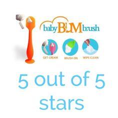 Baby Bum Brush - Diaper Cream Applicator