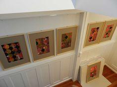 Kunst. Kunstprozesse. Musterwachstum - Tinulu Frame, Home Decor, Patterns, Kunst, Photo Illustration, Picture Frame, Decoration Home, Room Decor, Frames