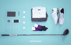 Golf Socks | GRÅPENGER #golf #socks #grapenger #poloshirt #balls #iphone #adidas #titleist #black #violet