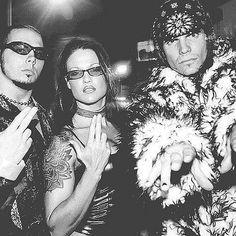 Lita and the Hardy Boyz Watch Wrestling, Wrestling Stars, Wrestling Wwe, Female Wrestlers, Wwe Wrestlers, Latina, Wwe Lita, Wwe Trish, Wwe Jeff Hardy