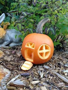 Find out how we created our very own fairy house jack-o-lantern...a delightful option for kids to make this Halloween. Halloween craft for kids