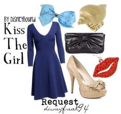Ariel: kiss the girl outfit