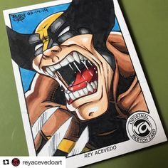 Logan Wolverine, You Can See Me, Channel, Sketch, Comic Books, Canning, Comics, Youtube, Cards