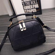 $5.75 (Buy here: https://alitems.com/g/1e8d114494ebda23ff8b16525dc3e8/?i=5&ulp=https%3A%2F%2Fwww.aliexpress.com%2Fitem%2FHanup-New-Fashion-Women-Solid-PU-Leather-Handbag-High-Quality-Chain-Shoulder-Lady-Messenger-Bag-Candy%2F32747381768.html ) New 2016 fashion Bag women messenger bags Tote Shoulder Bag Cross Body Purse Sac a Main Femme de Marque Casual Simple Style for just $5.75
