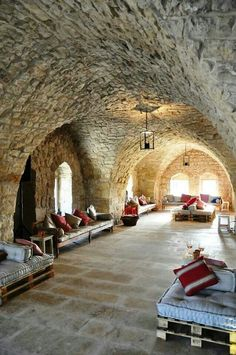 House of 380 years old . Ixir winery.  In Basbina lies Ixsir, another magnificent winery in a 17th century bastion. Bask in the garden sunlight while the gifts of Mother Nature in a glass of wine