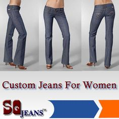 Find your perfect fitting jeans from http://www.sqjeans.com/customjeans-step1.html