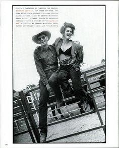 Arthur Elgort - Vogue Italia novembre 1989