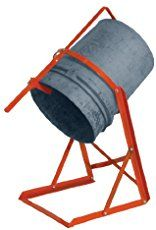 5 Gallon Pail Tipper - Pail Handling Equipment - Can Tippers - 5 Gallon Bucket Dispenser - 5 Gallon Bucket Dolly Hold 5 gallon buckets with pail handlers.