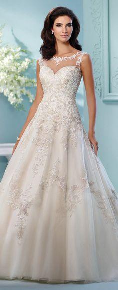 841f819665 216250 Lapis by Mon Cheri Drop Waist Wedding Dress