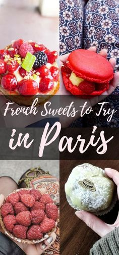 A Guide to All The French Desserts in Paris You MUST Eat! French Sweets You Must Try in Paris, France (Macaron, Tart, Croissant etc. French Sweets, French Desserts, French Food, French Recipes, Paris Travel Guide, Europe Travel Tips, Travel Pics, London Travel, Desserts Français