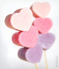 Last Minute Idee: Gefrorene Joghurt-Herzen am Spieß für Mutti - kullaloo – Kreatives für Kinder