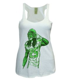 Richard Sherman NFL Officially Licensed Seattle Seahawks Womens Tank Top on Etsy, $27.00