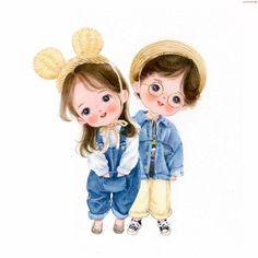 Cute Cartoon Pictures, Cute Cartoon Drawings, Cute Cartoon Girl, Cute Love Pictures, Cute Love Cartoons, Cartoon Girl Drawing, Cute Love Wallpapers, Cute Couple Wallpaper, Cute Cartoon Wallpapers