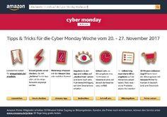 Amazon Cyber Monday Woche - Über 10000 Angebote bis zu 50% Rabatt! - Misses kleine Welt