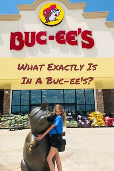 What Exactly Is In A Buc-ee's? Okay, so Texas has these giant gas stations with super clean bathrooms called Buc-ee's. Oh, and there's a cartoon beaver mascot. Find out what's inside a Buc-ee's! Texas Roadtrip, Texas Travel, Travel Usa, Road Trip Essentials, Road Trip Hacks, Road Trips, Texas Bucket List, Texas Swimming Holes, Texas Bluebonnets