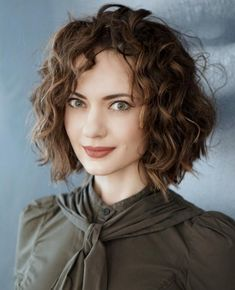 Die 76 Besten Bilder Von Lockiges Haar Curly Hair Cuts Short