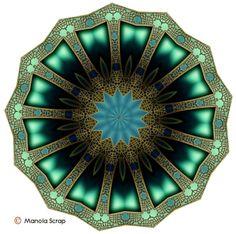 Mandalas de décorations - Manola - Scrap