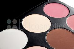 Nice! These are the colors to use to contour and highlight your face -there are so many tutorials on Pinterest too