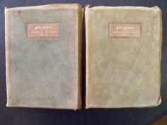 Little Journeys to the Homes of English Authors ~ Books I & II ~ Elbert Hubbard