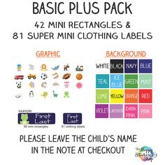 Round Personalized MICKEY MOUSE Property Name Stickers for school books and more