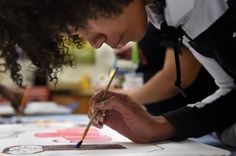 Art lessons teach D.C. young adults creative methods and financial skills - The Washington Post