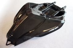Structural carbon fibre monocoque tail sections: extremely painful to make, but gorgeous in the end.