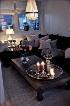 Love this...so cozy!