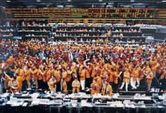 Chicago Mercantile Exchange, 1997, by Andreas Gursky.