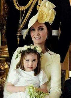 Kate and Charlotte Prince William Family, Prince Charles And Diana, Princesse Kate Middleton, Kate Middleton Prince William, Princess Charlotte, Princess Diana, Real Princess, Windsor, Prinz Philip