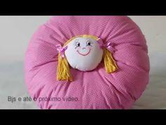 Almofada de boneca, assista o passo a passo. - YouTube