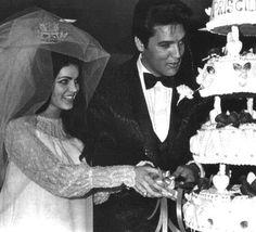 Elvis and pricilla wedding