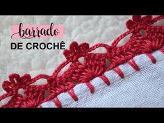 Crochet Stitches For Beginners, Crochet Videos, Crochet Earrings Pattern, Crochet Necklace, Baby Knitting Patterns, Crochet Patterns, Crochet Borders, Crochet Projects, Crochet Bikini