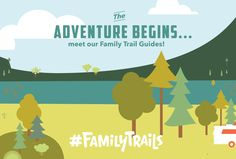 We believe your family is the best teacher your child will ever have – and the world around us is the ultimate classroom. Join us as we introduce our featured Trail Guides on #FamilyTrails!